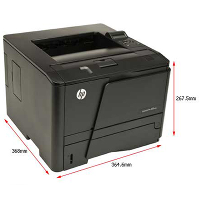 HP Printer Laserjet M401a