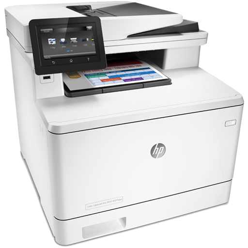 HP Printer HP Color LaserJet Pro MFP M377dw