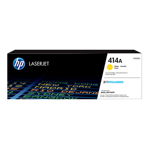 HP 414A Yellow Original LaserJet Toner Cartridge