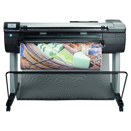 HP DesignJet T830 36-in PostScript Multifunction Printer