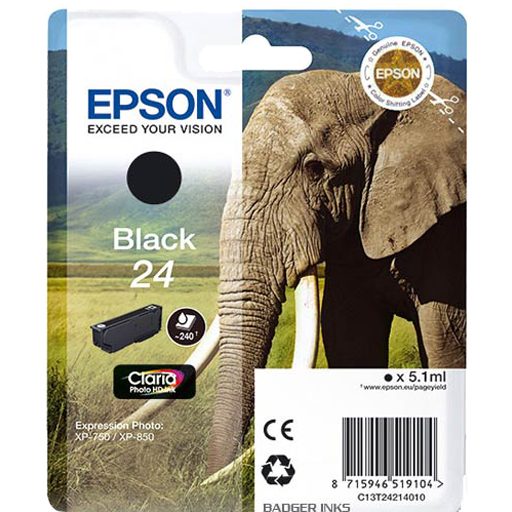 Epson Cartrisde HD ink 24 Black