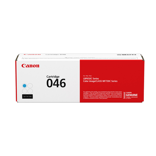 Genuine Cyan Canon 046Cyan Toner Cartridge