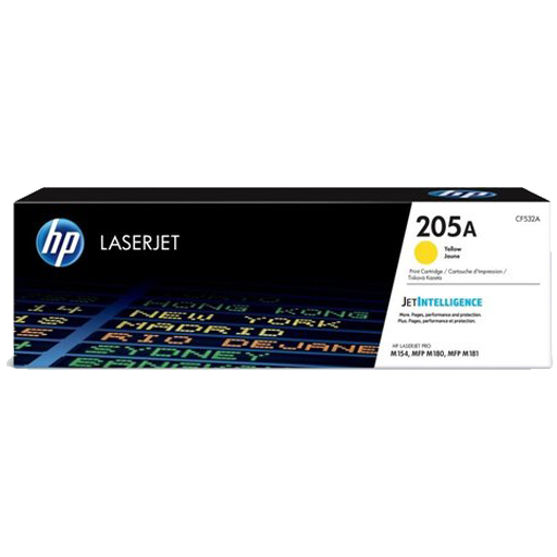 HP 205A yellow LaserJet Toner Cartridge