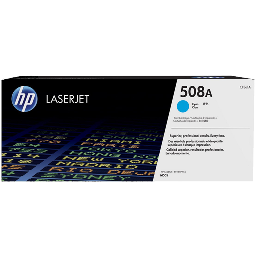 HP 508A Cyan Original LaserJet Toner Cartridge