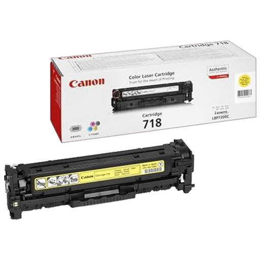 Canon 718 yellow Original Laser Toner Cartridge