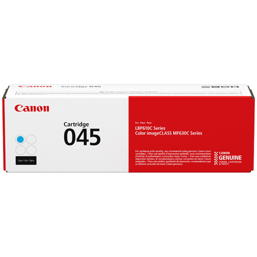 Genuine Cyan Canon 045C Toner Cartridge 1241C002