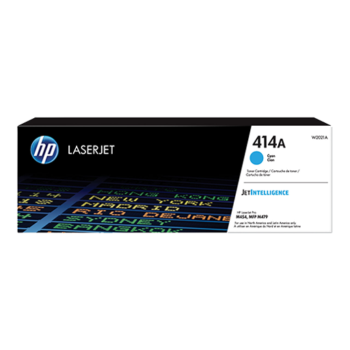 HP 414A Cyan Original LaserJet Toner Cartridge