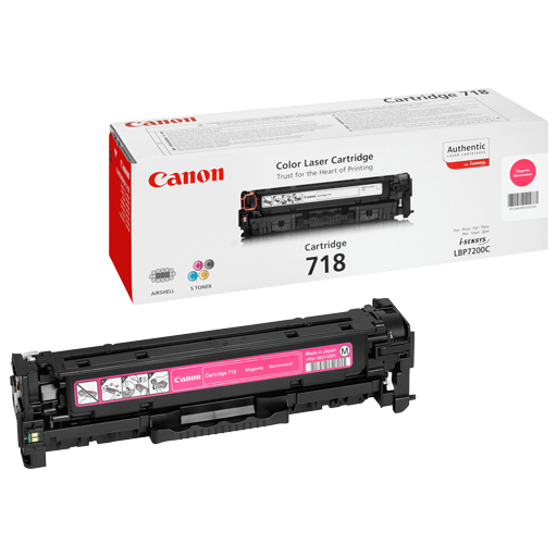 Canon 718 magenta Original Laser Toner Cartridge