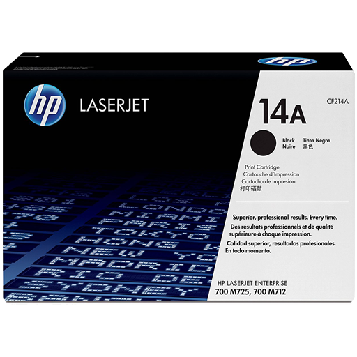 HP 14A Black Original LaserJet Toner Cartridge CF214A