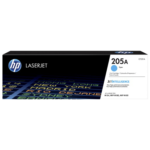 HP 205A Cyan LaserJet Toner Cartridge