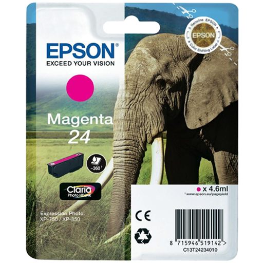 Epson Cartrisde HD ink 24 Magenta